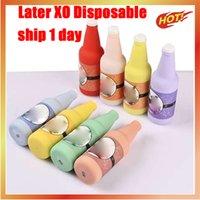 Kit de périphérique Vape Jauge Device original ultérieurement XO E-Cigarette 3000 Puffs 1100mAh Batterie 8 ml cartouches préremplies RGB Light Vape Stick Stylo Puff Plus XXL
