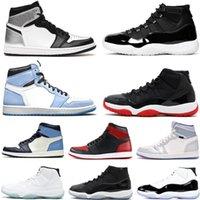 Erkekler Basketbol Ayakkabıları 11 11s Legend 25th Yıldönümü Concord Gama 1 1 Siments Üniversitesi Mavi Hiper Kraliyet UNC Kadınlar Spor Erkek Sneaker Trainer