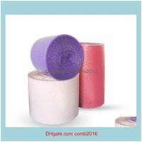 Bags Packing Office School Business & Industrial30Cm Wide 20M Thicken Film Air Cushion Bubble Roll Packaging Lovely Heart Shape1 Drop Delive