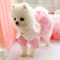 작은 애완 동물 개 고양이 여름 귀여운 요정 치마 공주 Tutu 드레스 강아지 옷 의류 클래식 복장