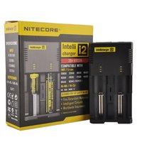 Hight Quality Nitecore I2 Универсальное зарядное устройство для 16340/18650/14500/26650 Батарея US EU AU UK Plug 2 в 1 Intellicharger