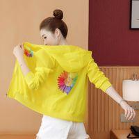 Women's Jackets Sunscreen Women 2021 Summer Anti UV Hooded Thin Short Coat Clothing Shirt