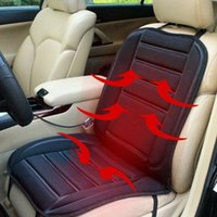 Car Seat Cushion Covers 12V Fast Heating & Adjustable Heater Warmer Winter Household Cardriver Heated