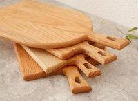 Quadratische Küche Hackblock Holz Home Schneidebrett Kuchen Sushi Platte Servierschalen Brotschale Fruchtplatte Sushi Tray Steak Tablett EEB5655