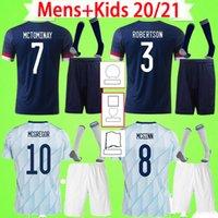 الكبار + Kids Kit مع الجوارب 2020 2021 Scotland Soccer Jersey Mens Suit 20 21 22 Fraser Armstrong Dykes McTominay Forrest Mcgregor Mcginn Zahavi Boys Skin قميص كرة القدم