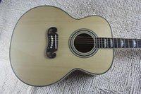 Neue Ankunft DOT Fichte Beige Elektrische Akustikgitarre mit Fishman Pickup @ 21