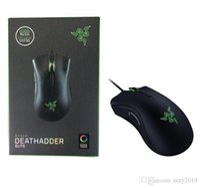 Razer Deathodder Elite Gaming Mouse Mouse 16000 DPI Ergonomy Chroma Оптимизирован Оптимизирован 450 IPS 7 Кнопки esports Wired Mouse Gamer