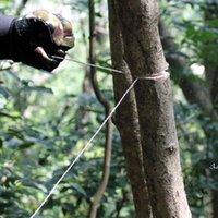 Survival de campo Sierra de alambre inoxidable Sierra de mano Cutter Outdoor Emergencia Freetsaw Camping Caza Alambre Sierra Herramienta de supervivencia LLD11229