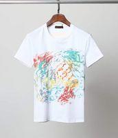 여름 남성 여성 디자이너 티셔츠 코튼 셔츠 장미 인쇄 짧은 소매 힙합 탑 느슨한 통기성 망가웨어 남성 티셔츠 M-3XL