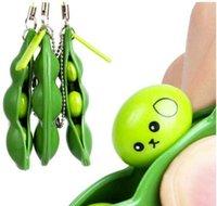 Neue unendliche Entlüftung Extrusion Spielzeug Schlüsselanhänger Erwachsene Handy Erbsen Anhänger Lindere Stress Kleine Spielwaren Kinder Geschenk Kinder