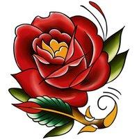Varity Diseños únicos Flores Desechable Cuerpo Tatuaje Matterfly Impermeable Tatuaje Temporal Pegatinas OneTime Tatuajes M-B