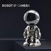 Cameras 2MP 1080P IP Camera Wireless Home Security Robot Two-way Audio Surveillance Hidden Wifi Night Vision CCTV