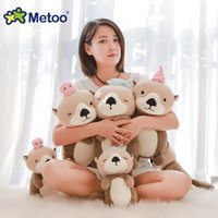 Metoo Mi rabbit otter plush cute machine net red doll children's toy
