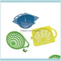 Haustier Home GARDENPCS Kunststoff Bird Barch Nest Blau / Gelb / Grün Tauben Papagei Schlucke Birds Supplies Eier Haus Asoresen Käfige Drop liefern