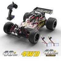 Deard RC Автомобили 1:18 Масштаб 4WD вся местность от Road Stunt RC Drift Car 40 км / ч высокоскоростной пульт дистанционного управления автомобилем с 2 батареями 40мин 210322