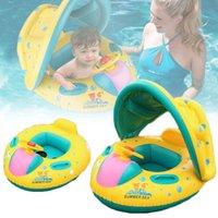 아기 아이들 여름 수영장 반지 팽창 식 백조 수영 플로트 물 재미 장난감 3-6y 튜브에 대 한 좌석 보트 스포츠