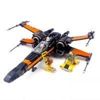 Star Wart X Wing Fighter Model Mode Blocks Blocks Кирпичи Игрушка космические войны космический корабль космический корабль