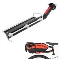 الإصدار السريع دراجة الرف الخلفي الدراجة الجبلية الوقائية إطار مقعد الأمتعة حاملات البضائع رفوف سبيكة سيارة شاحنة