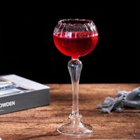 Wine Glasses 320ml Creative Cocktail Glass Europe Style Flower Shape Red Whiskey Copita Goblet Wedding Party Champagne Cup