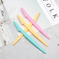 Couteaux de rasoir à sourcils Femmes Epilateur Source Source Source Supérieur Rasage de rasage des cheveux 3 couleurs OWB5865
