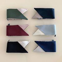 Marca de lujo femenina bufanda diseñadora moda diadema clásico bolso pequeño bufandas de alta calidad material de seda tamaño 6 * 100 cm