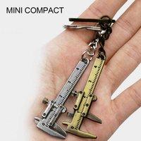 Keychain Unisex Mini Meten Gauging Tool Hanger Pendant Slide Master