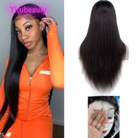 Peruvian Human Hair HD 13*4 Lace Front Wigs Water Wave Deep Waves Yaki Straight Body Weave 12-38inch 150% Density