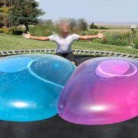 120 cm niños al aire libre suave aire agua llena burbuja bola explotar globo juguete diversión fiesta juego grandes regalos al por mayor playa juguetes