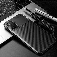 탄소 섬유 디자인 TPU 전화 케이스 LG 스타일러스 7 iPhone 12 Pro Max Xiaomi MI 11 삼성 갤럭시 A03S F52 모바일 커버
