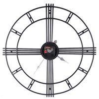 Wall Clocks Art Silent Antiquing Modern Design Pow Home Office Decor Watch Mechanism Guess Women Clock Quartz 50ZB76