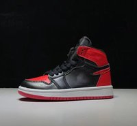 Çocuklar Jumpman 1 1 S Siyah Kırmızı Yüksek OG Obsidyen Erkek Kız Basketbol Ayakkabı Erkek Paramparça Backboard 3.0 Spor Sneakers Boyutu 28-35
