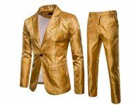 Men's Suits & Blazers Men Pant Trouser Formal Wedding Groom Coat 2Pcs Blazer Slim Fir Suit Tuxedo