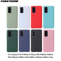 Fashion Candy Color TPU Matte Cases For Huawei P10 Plus P10Lite P20 P20Lite P20Pro P30 P30Lite P30Pro P40 P40Pro P40Lite