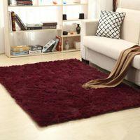 Carpets Fluffy Anti-skid Shaggy Area Rug Yoga Carpet Home Bedroom Floor Dining Room Mat Living Faux Fur Textile
