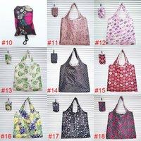 Sacos de compras dobráveis de nylon de armazenamento em casa sacos de compras eco-friendly Bolsas de armazenamento de Senhoras MMA132