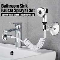 Bathroom Sink Faucet Sprayer Portable Handheld Toilet Bidet Set Hand Shower Head Self Cleaning Kitchen Faucets