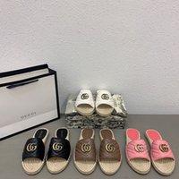Sandali Pantofole doppia G Piccola fragranza Nuove pantofole estive per le donne nel 2021