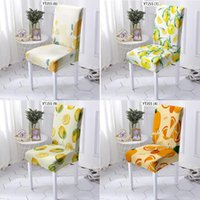 Chair Covers Fruit Pattern Chairs Pedicure Seat Cover Recliner Black Dinning Wedding