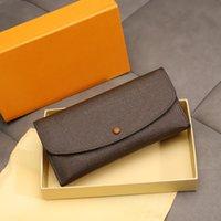 2021 Portafogli da donna 100% in vera pelle Portafoglio lungo in pelle per lady Multi-card Zipper Bag Designer Designer Luxurys Brand Portafoglio dotato di confezione regalo