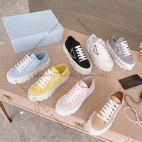 Classics Women Alpadrilles Aumento de zapatillas de deporte zapatos de deporte lienzo y accesorios de piel de cordero real de dos tonos toe de pie de la moda zapato casual por home011 01