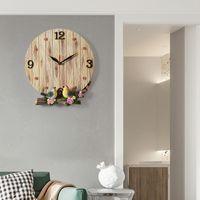 Nordic Creative Wall Clock Simple Art Digital Large Vintage Silent Living Room Quartz Reloj Pared Home Decor DB60WC Clocks