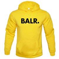 Street fashion balr. Printed men's Pullover Hoodie