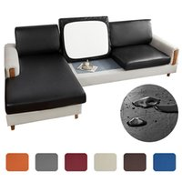 Chair Covers Replaceable Sofa Seat Cover For Home, Solid Color, Elastic, Waterproof, Cushion Cover, Protective