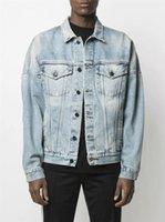 2021 Mens Denim Jacket Fashion Brand Print Designer Jacket Cowboy Mens Deisgner Long Sleeve Womens Windbreaker Chaquetas