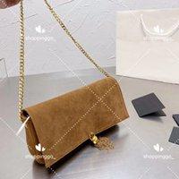 Borse a tracolla in pelle autunno / inverno levigate Tassel Lady Designer Borsa Elegante Nebbia Top Dinner Bag Colore solido Borsa casual