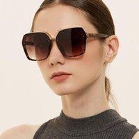 6colors Lunettes de soleil SuaL Cadre de viande pour femmes PC Lentilles UV400 Verres de soleil 2021 Porter des yeux LX094