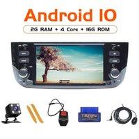 Android 10 pour Linea Punto Evo 2012-2021 Radio GPS Navigation Joueur multimédia Volant Contrôle du volant 4core 2GB 16G DVD DVD