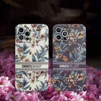 Sun Flower Designer DI حالات الهاتف ل iPhone 12 Promax 12Pro 11 Pro XS Max XR X 8 Plus مع D