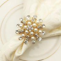 Салфетки Shseja 12 шт. Рождественский олень серебряный золотой сплав пряжки эль свадьба партия украшения стола