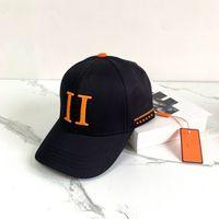 Оптовая высокое качество бейсбольные шапки дизайнеры колпачки шляпы мужские моды вставленные шляпа женщины роскоши большие буквы бренда casquette 2105142SX